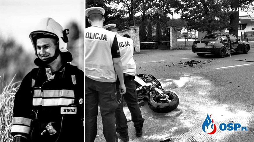 Strażak z OSP Rydułtowy zginął w wypadku OSP Ochotnicza Straż Pożarna