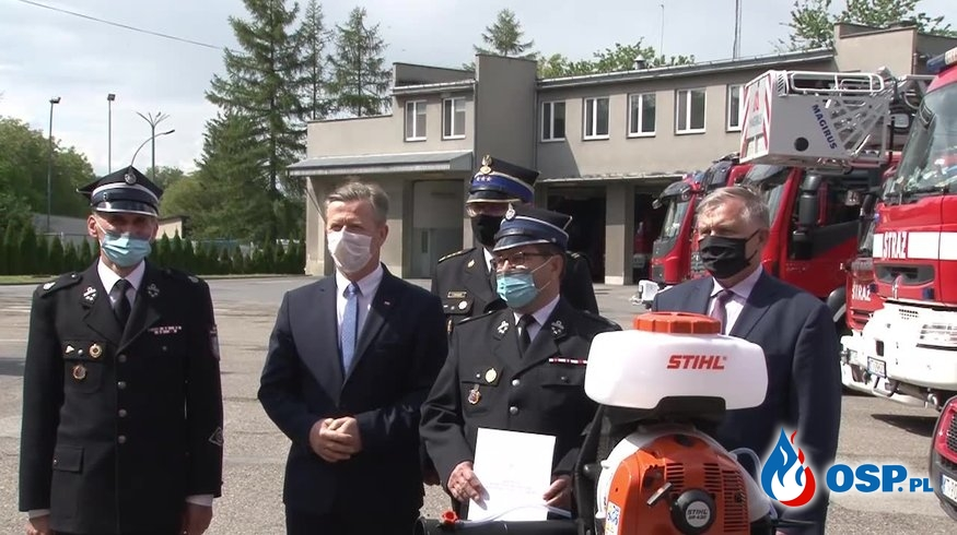 53 jednostki OSP otrzymały sprzęt z Małopolskiej Tarczy Antykryzysowej OSP Ochotnicza Straż Pożarna