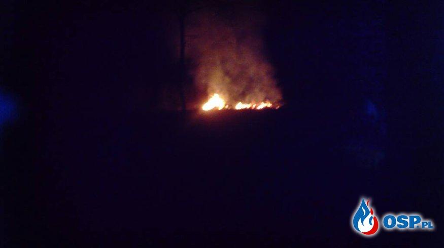 pożar traw naglady OSP Ochotnicza Straż Pożarna