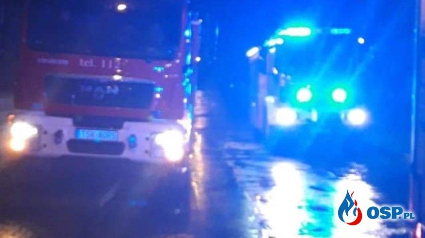 Pożar budynku jednorodzinnego - Skarżysko-Kamienna Os. Bór OSP Ochotnicza Straż Pożarna