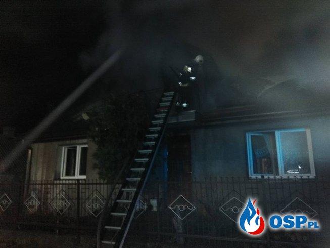 Stracili dach nad głową przed świętami. OSP Ochotnicza Straż Pożarna