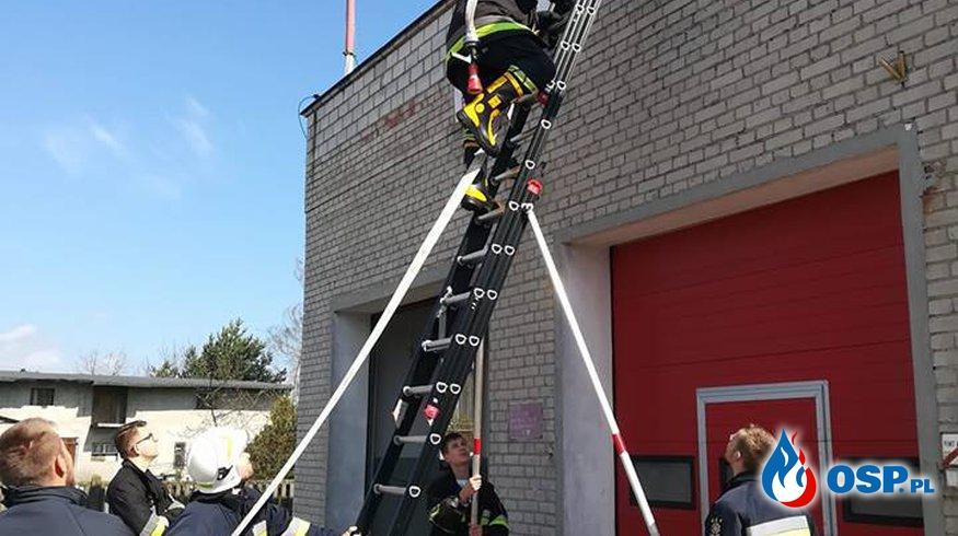 Ćwiczenia wewnętrzne - Kwiecień OSP Ochotnicza Straż Pożarna