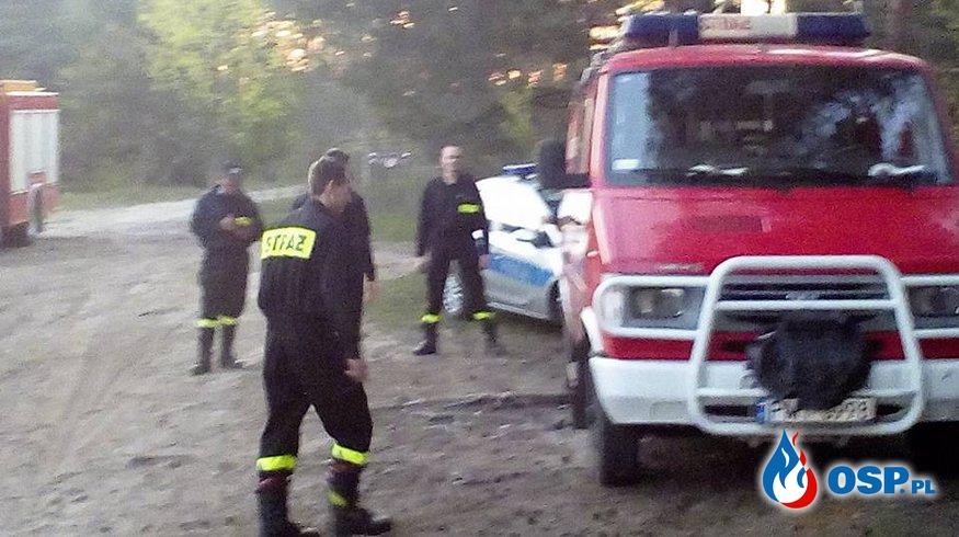 Poszukiwania zaginionej kobiety OSP Ochotnicza Straż Pożarna