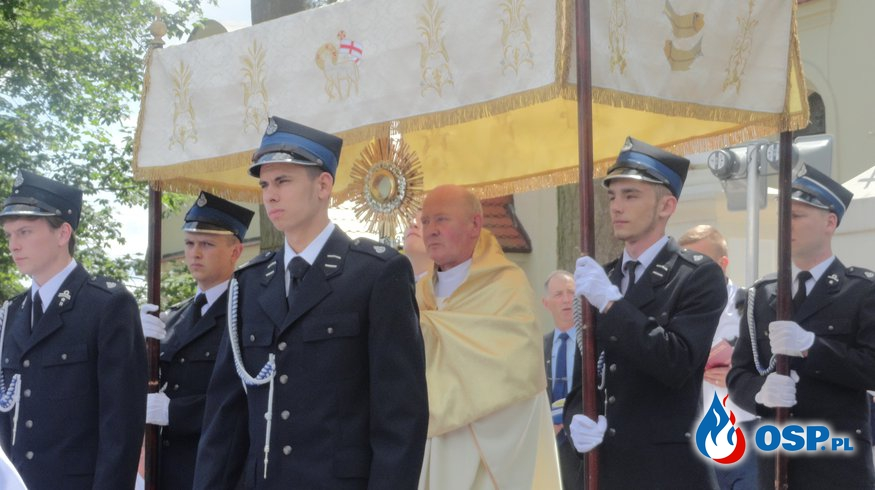 Uroczystość Bożego Ciała OSP Ochotnicza Straż Pożarna