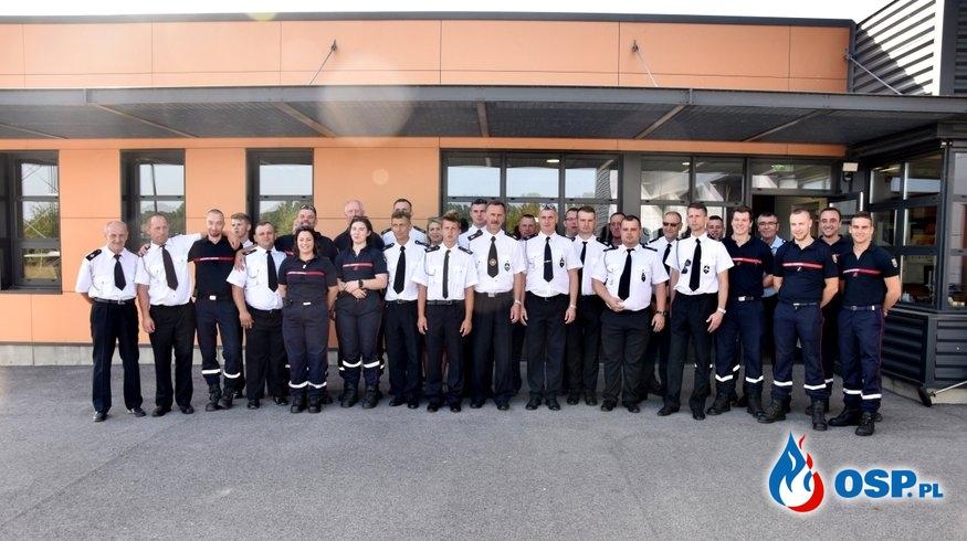 Wizyta w Naours we Francji OSP Ochotnicza Straż Pożarna