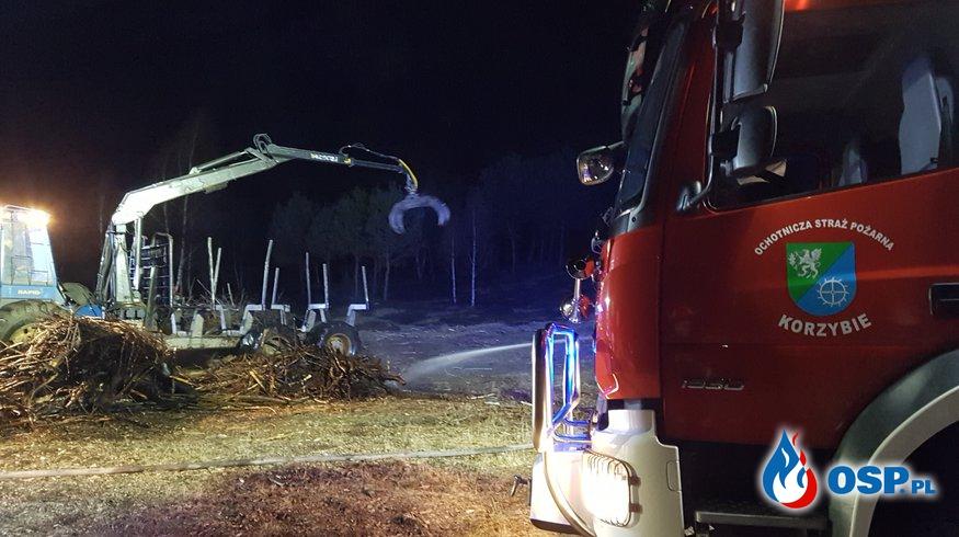 Pożar nieużytków okolice Bronowa OSP Ochotnicza Straż Pożarna