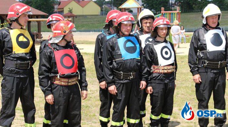 Gminne zawody sportowo - pożarnicze OSP w Bliżynie OSP Ochotnicza Straż Pożarna