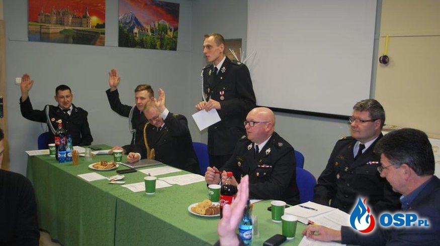 Zebranie Sprawozdawcze OSP w Moryniu- Podsumowanie OSP Ochotnicza Straż Pożarna