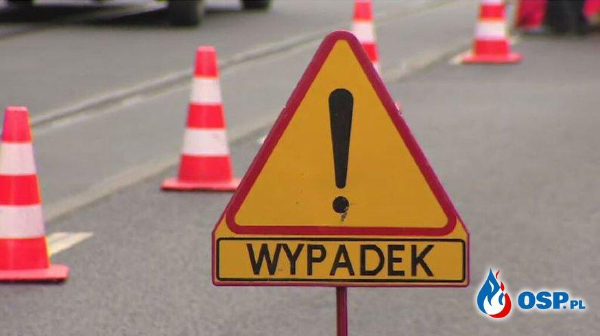 Wypadek okolice Zagórek 12-05-2018 OSP Ochotnicza Straż Pożarna