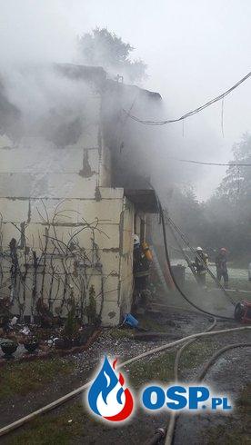 Pożar Budynku Gospodarczego Wrząca 12.10.2015 OSP Ochotnicza Straż Pożarna