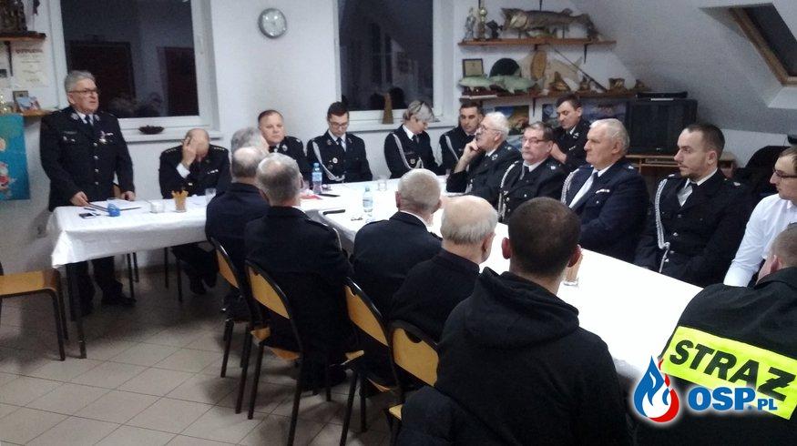 Zebranie sprawozdawcze za rok 2018r. Cerkwica, 08.02.2019r. OSP Ochotnicza Straż Pożarna