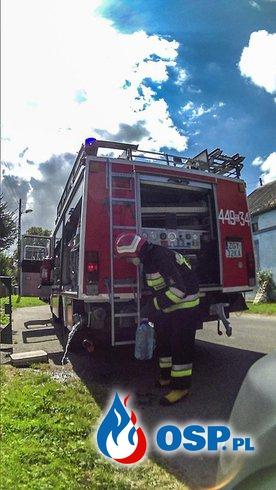 Nasze działania w sierpniu 2014r. OSP Ochotnicza Straż Pożarna
