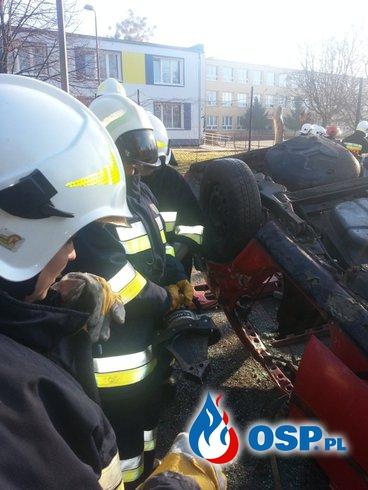 Szkolenie z zakresu ratownictwa technicznego. OSP Ochotnicza Straż Pożarna