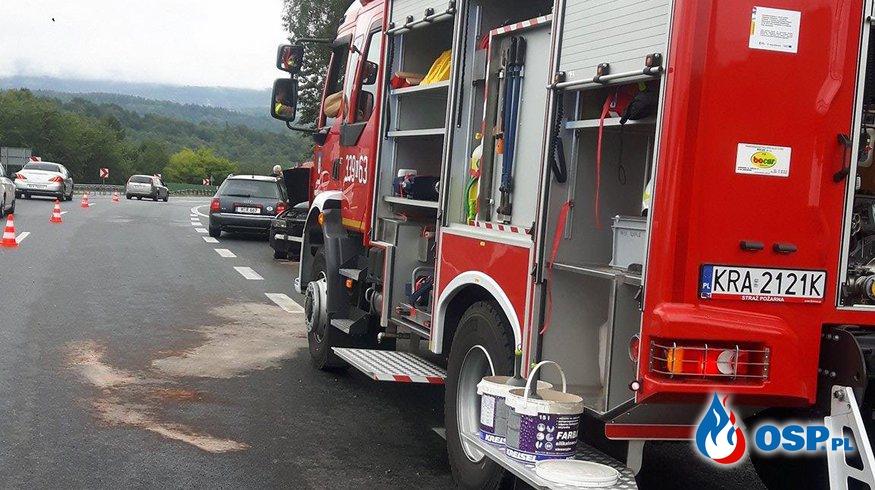 Ciężki dzień naszej jednostki OSP Ochotnicza Straż Pożarna