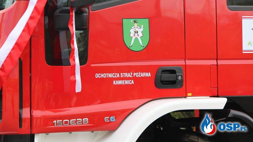 UPADEK Z WYSOKOŚCI OSP Ochotnicza Straż Pożarna