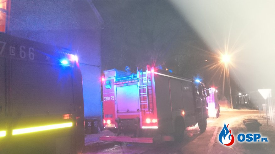 Zadymienie w Pietrzykowicach OSP Ochotnicza Straż Pożarna