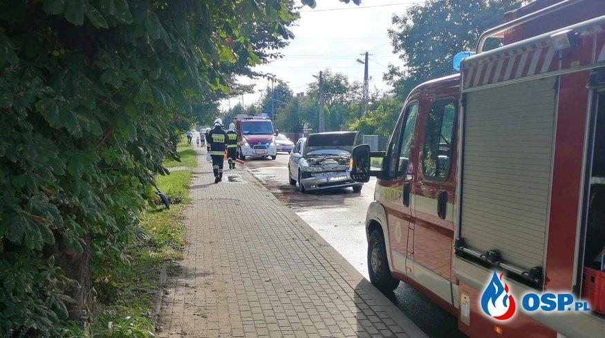 Zderzenie trzech samochodów w Świerzowej Polskiej OSP Ochotnicza Straż Pożarna