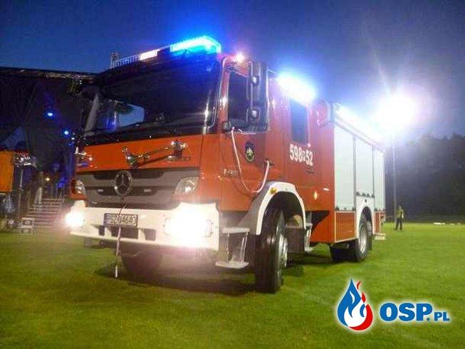 Amica - przekazanie samochodu, milionowa kuchenka OSP Ochotnicza Straż Pożarna