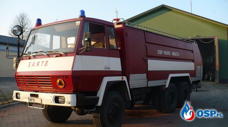 Minął ponad rok od awarii sam. ratowniczo - gaśniczego  GCBA Steyr OSP Ochotnicza Straż Pożarna