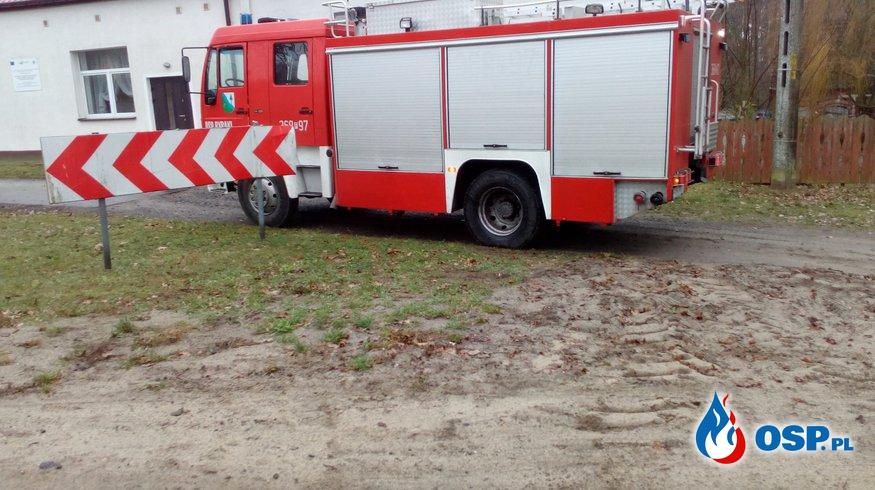 Pierwsza akcja 2019 roku OSP Ochotnicza Straż Pożarna