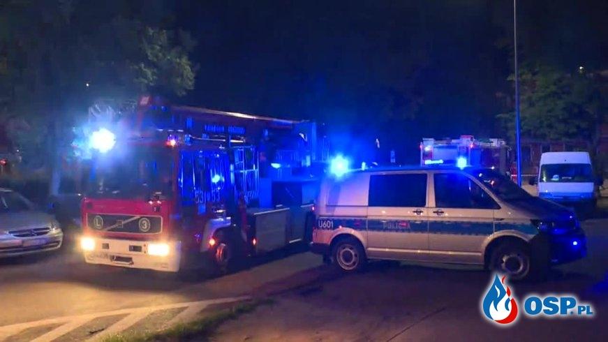 Wybuch gazu w Ostrowie Wielkopolskim. Jedna osoba została poważnie poparzona. OSP Ochotnicza Straż Pożarna