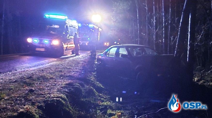 Wypadek 11-02-2020 Barcino -Kuleszewo OSP Ochotnicza Straż Pożarna