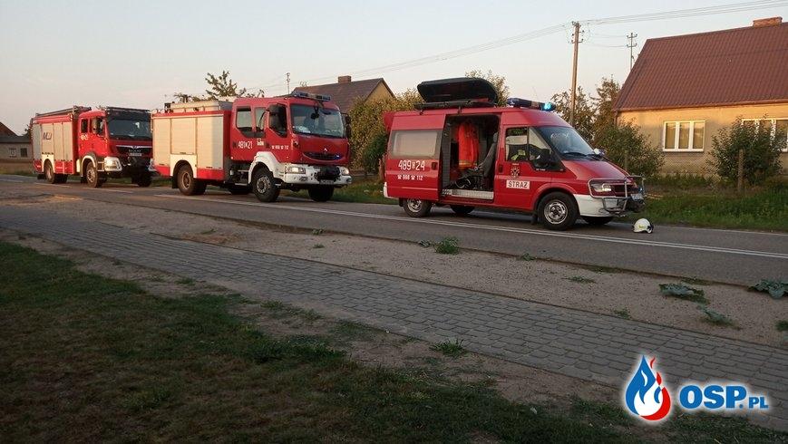 Wypadek dwóch samochodów – Różanna OSP Ochotnicza Straż Pożarna