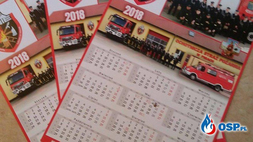 Kalendarze Strażackie 2017 OSP Ochotnicza Straż Pożarna