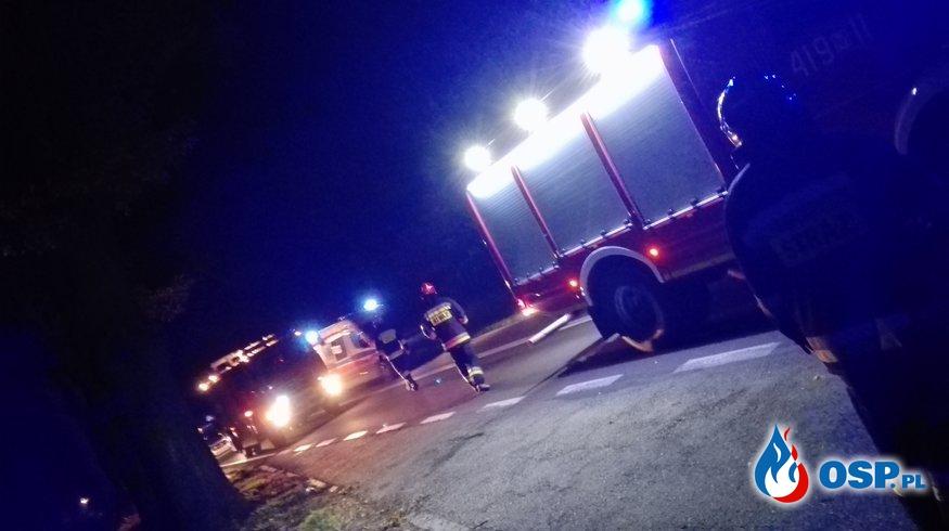 Wypadek śmiertelny na DK60 OSP Ochotnicza Straż Pożarna
