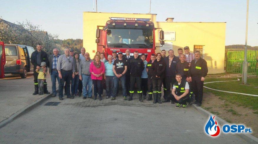 Goście z Niemiec 5.05.2016 OSP Ochotnicza Straż Pożarna