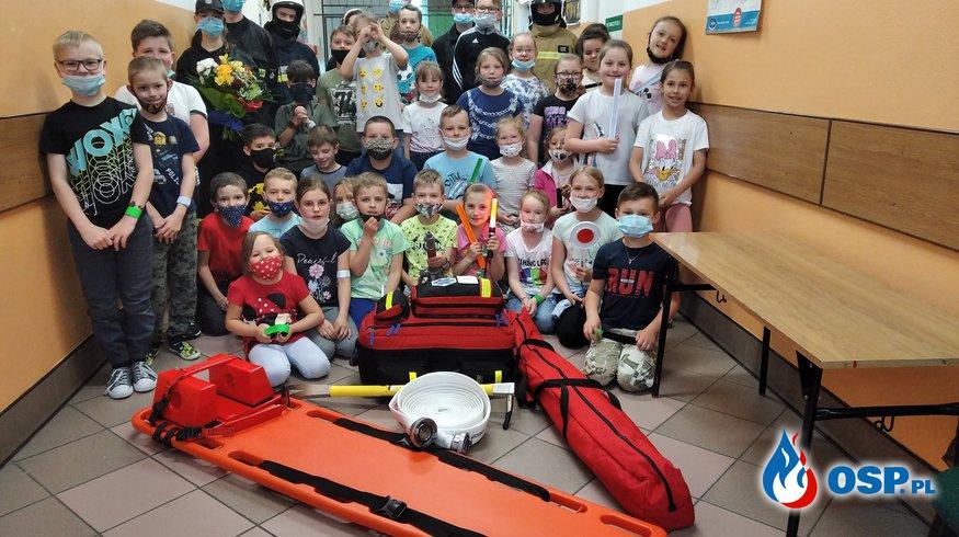 Spotkanie z dzieciakami OSP Ochotnicza Straż Pożarna