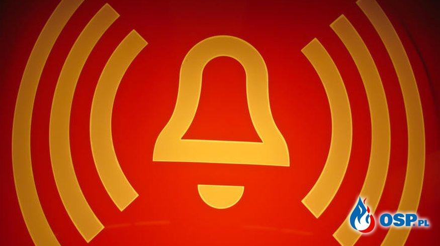 Plama substancji ropopochodnej OSP Ochotnicza Straż Pożarna