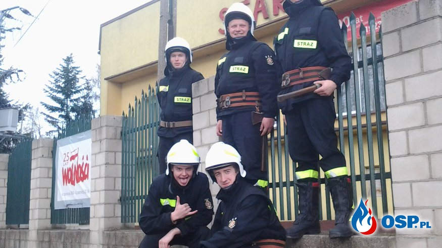 Strażacy OSP Ochotnicza Straż Pożarna
