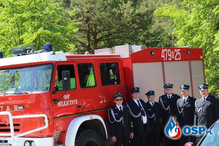 Uroczysty Apel z udziałem OSP Milejczyce OSP Ochotnicza Straż Pożarna