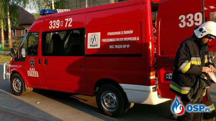 wyjazdy 49 - 51 - kolizja, miejscowe zagrożenie, pożar OSP Ochotnicza Straż Pożarna