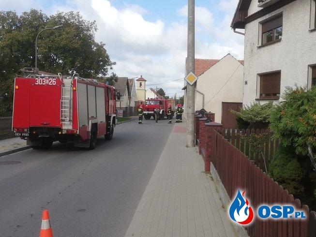 Miejscowe Zagrożenie - Zerwane przewody OSP Ochotnicza Straż Pożarna