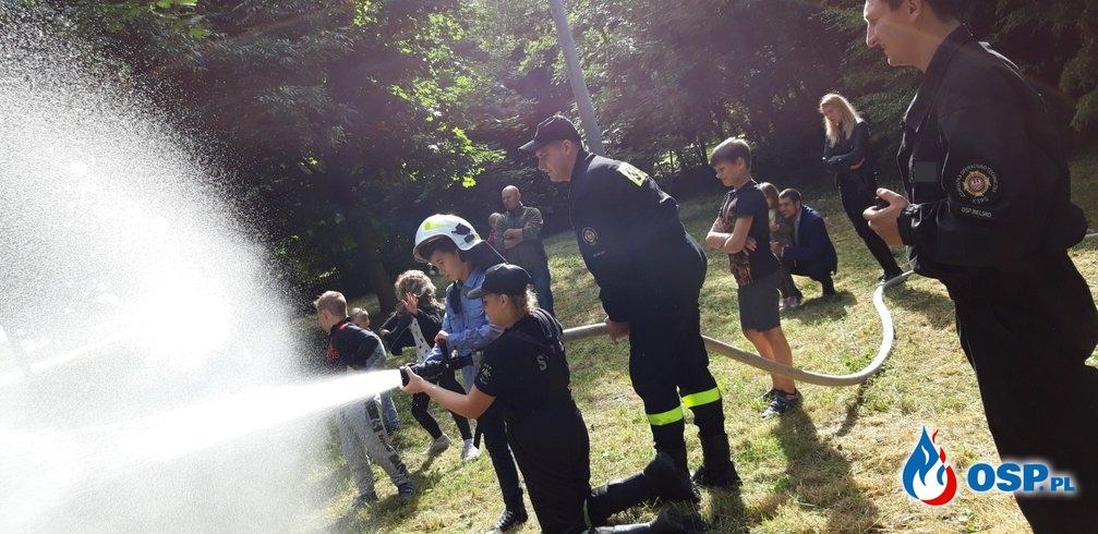 Dzień dziecka - Linówiec 2019 OSP Ochotnicza Straż Pożarna