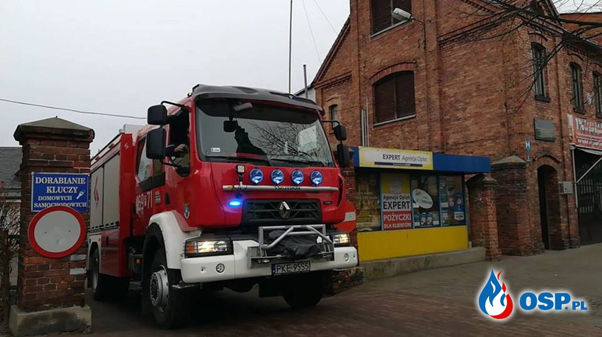 Zabezpieczenie i pożar sadzy w przewodzie kominowym [13,14/2018] OSP Ochotnicza Straż Pożarna