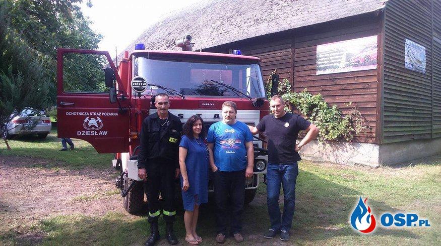 OSP Białe Błota ma swój drugi wóz strażacki! OSP Ochotnicza Straż Pożarna