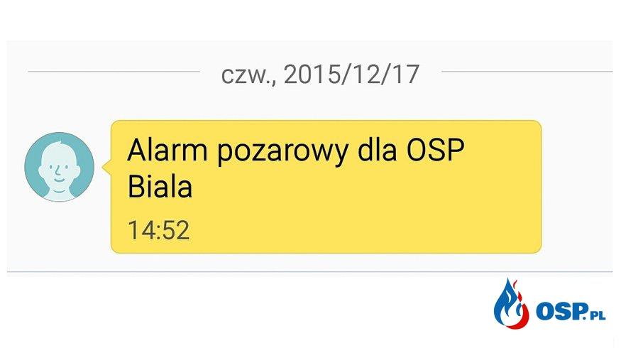 Pożar piwnicy w Wilkowie OSP Ochotnicza Straż Pożarna