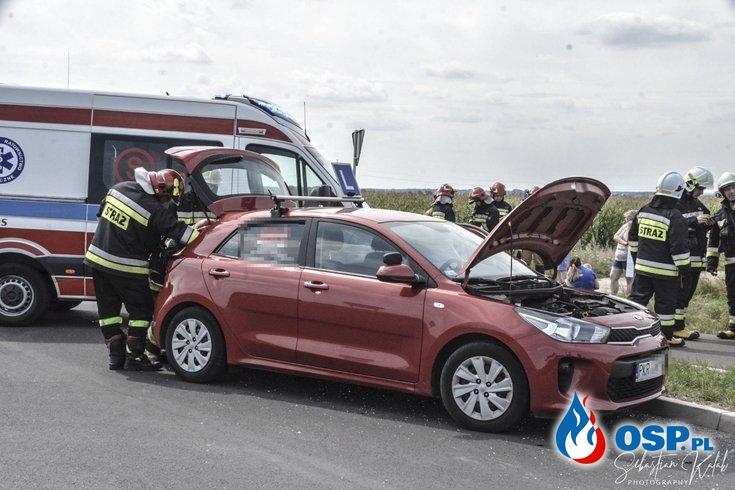 NIEBEZPIECZNE ZDARZENIE DROGOWE OSP Ochotnicza Straż Pożarna
