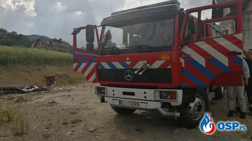 LIKWIDACJA GNIAZDA OWADÓW OSP Ochotnicza Straż Pożarna