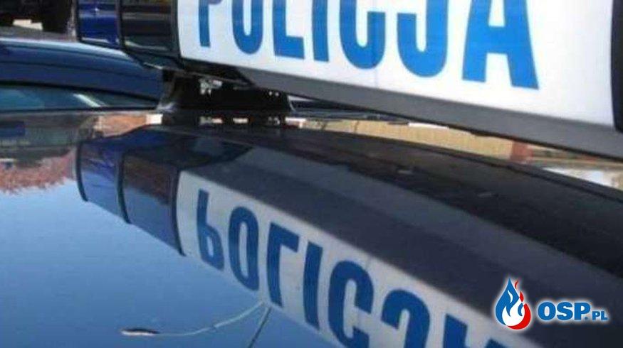 DK16 Naglady-Olsztyn, samochód osobowy wpadł do rowu. OSP Ochotnicza Straż Pożarna