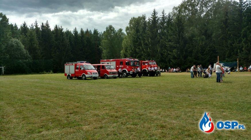 Dożynki parafialne w Starych Kielbonkach 15.08.2017 OSP Ochotnicza Straż Pożarna