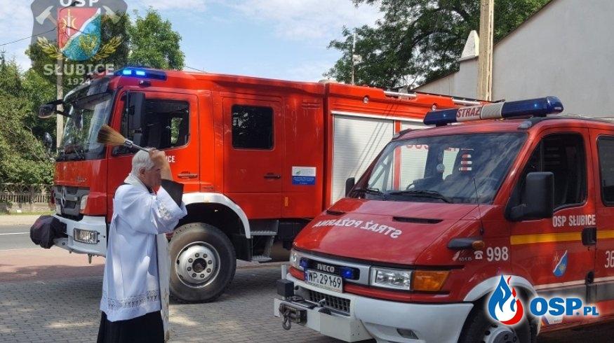Św. Krzysztof czuwa nad kierowcami OSP Ochotnicza Straż Pożarna