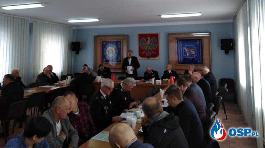 Spotkanie informacyjno-szkoleniowe Filii OW ZOSP RP w Płocku OSP Ochotnicza Straż Pożarna