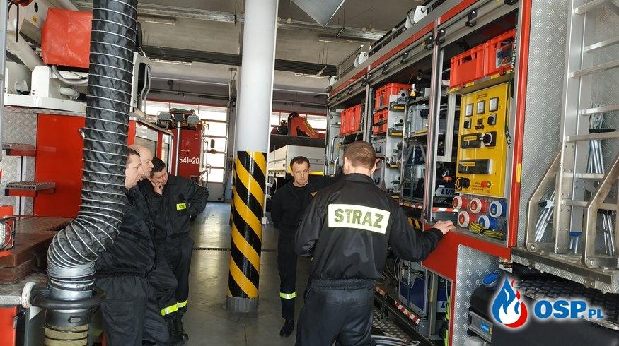 Sobotnie szkolenie dla OSP OSP Ochotnicza Straż Pożarna
