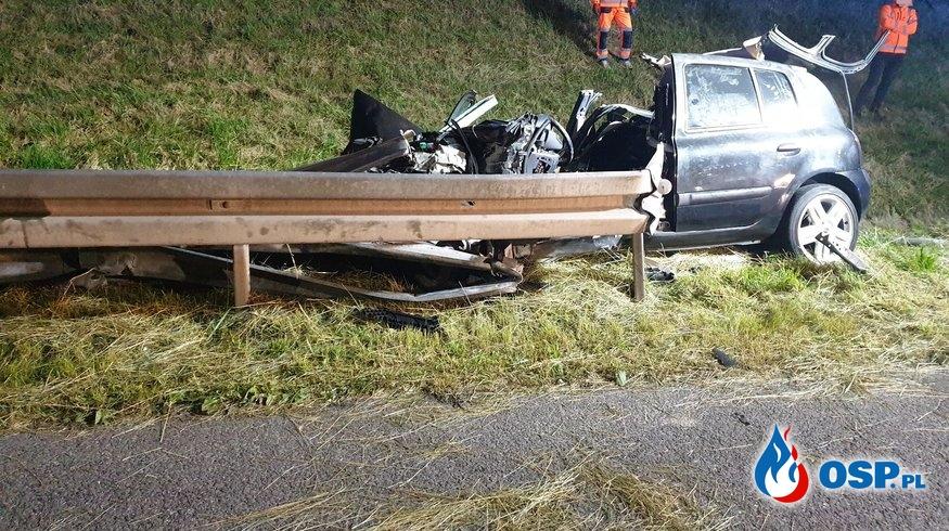 Wypadek autostrada A4 OSP Ochotnicza Straż Pożarna