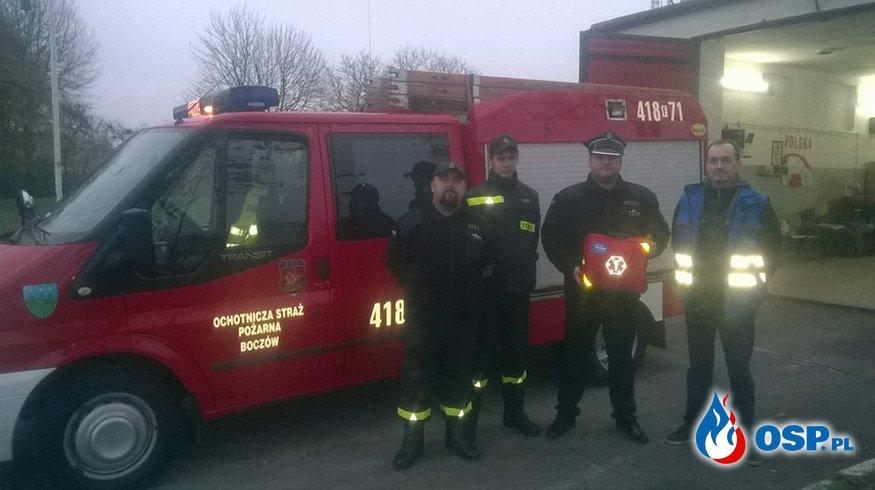 Enea Operator dziękuję Strażaką za pomoc przy usuwaniu skutków Orkanu Ksawery!!! OSP Ochotnicza Straż Pożarna