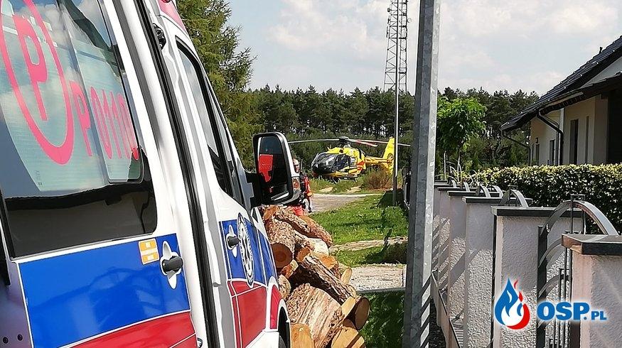 Pożar kotłowni w Rakoniewicach. Jedna osoba nie żyje. OSP Ochotnicza Straż Pożarna